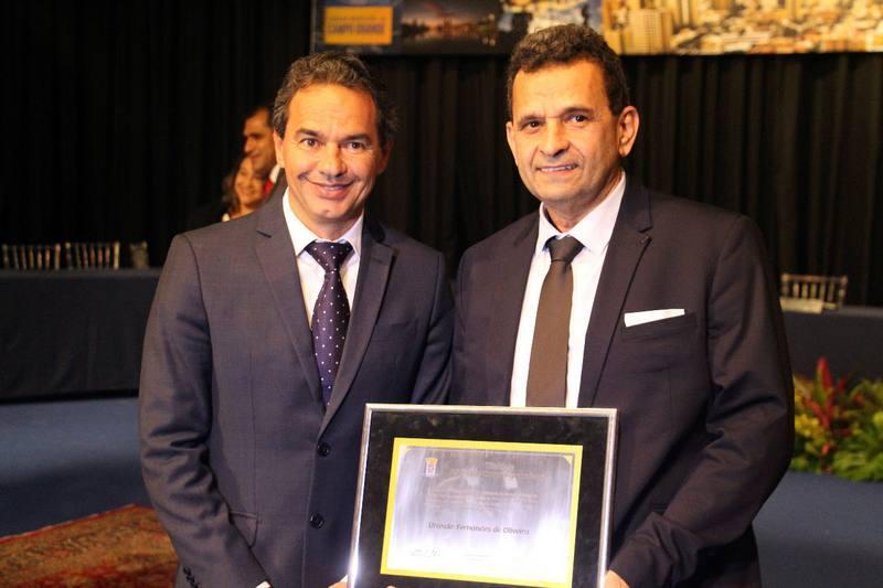 Urandir e o prefeito de Campo Grande, Marcos Trad